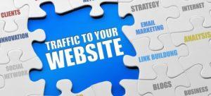 order website traffic