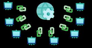Web Blog Networks