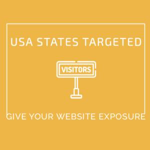USA States Targeted Traffic